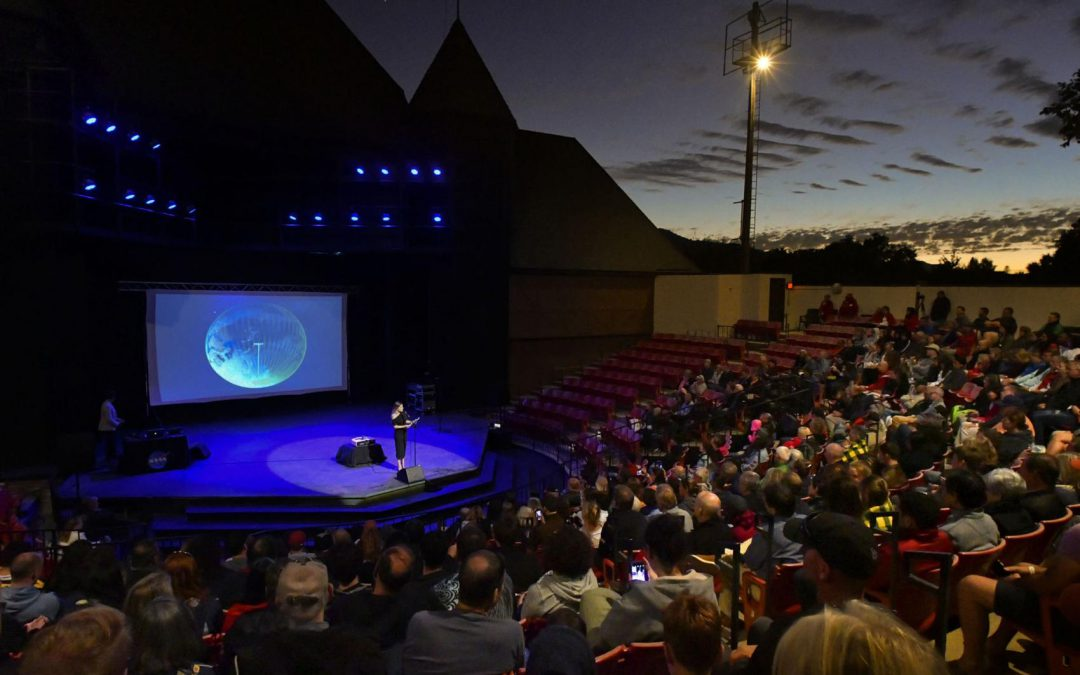 NASA's ICESat-2 mission comes to life in Solvang concert multimedia presentation